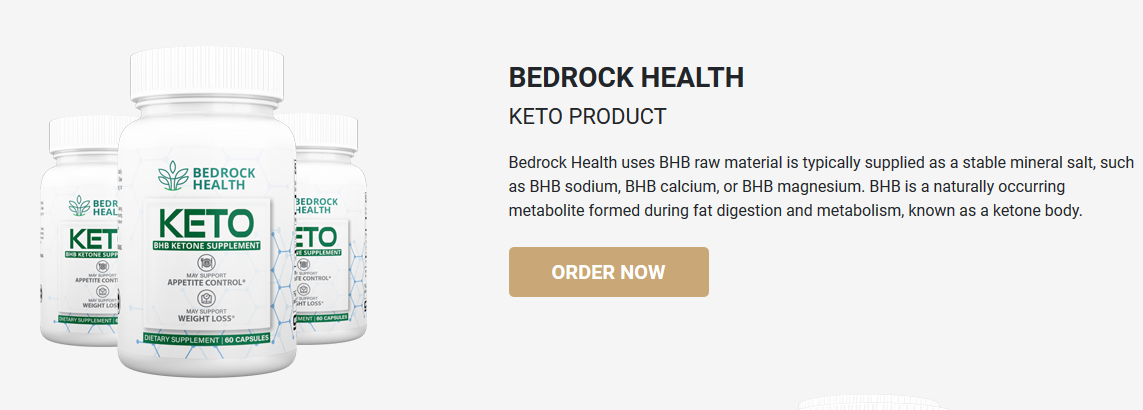 Bedrock Health Keto ® {Modify 2020} Price, Advantages, Scam, Reviews?