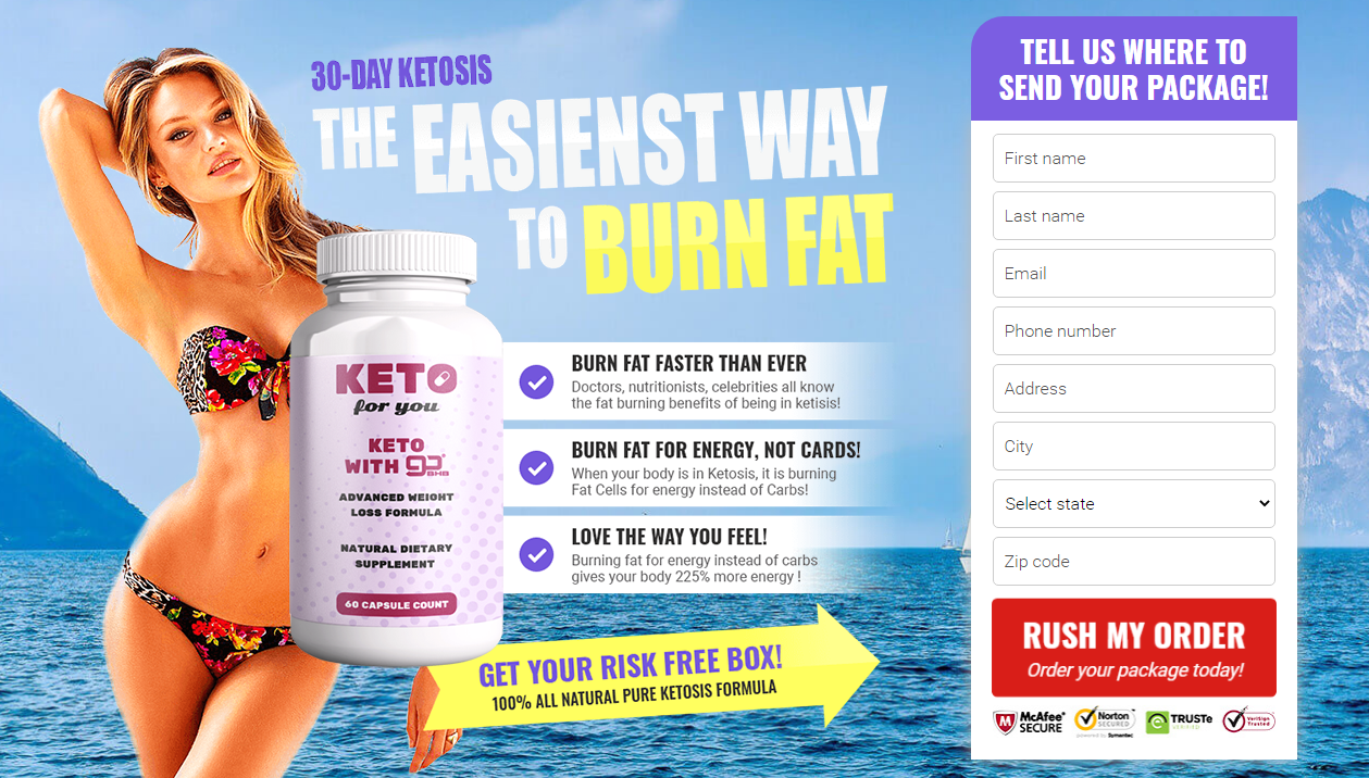 Keto For You Pills ® [8 True About You Keto For You] Its Really Works?