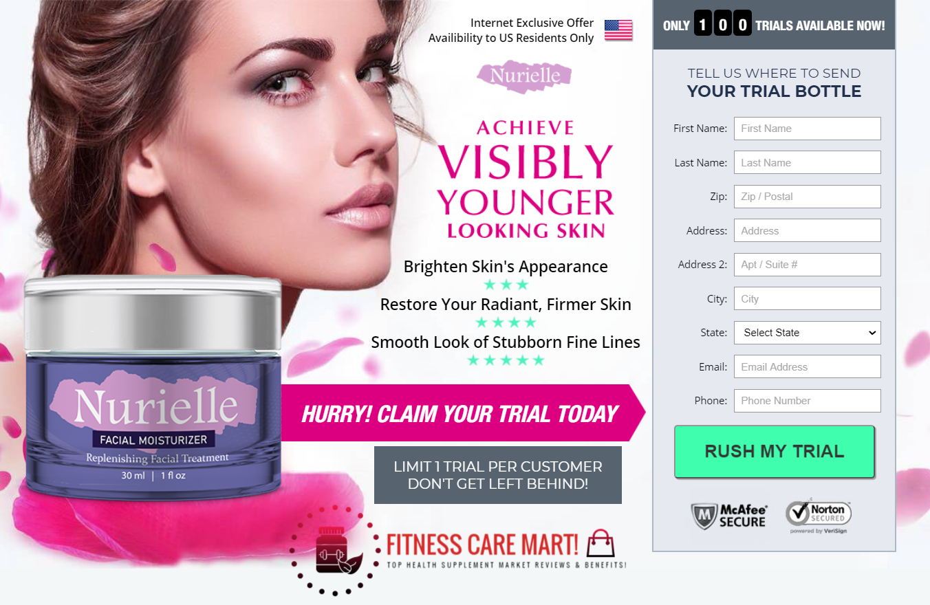 "Nurielle Cream Reviews ® ""Nurielle Facial Moisturizer"" Its Really Works?"