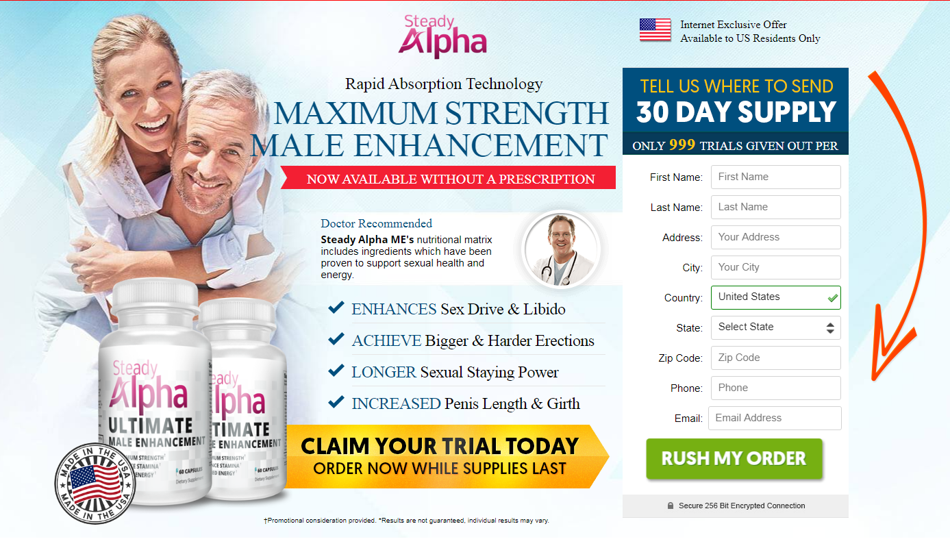 Steady Alpha Male Enhancement® [Modify 202] Does Its Really Works?