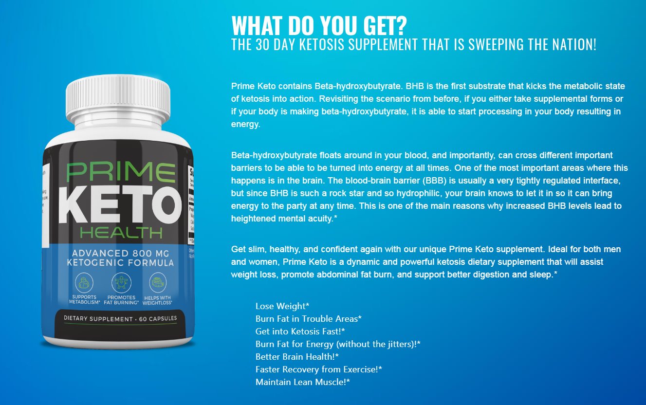 Prime Keto Health Reviews ® [Its Really Works?] Must Read Before Buy!