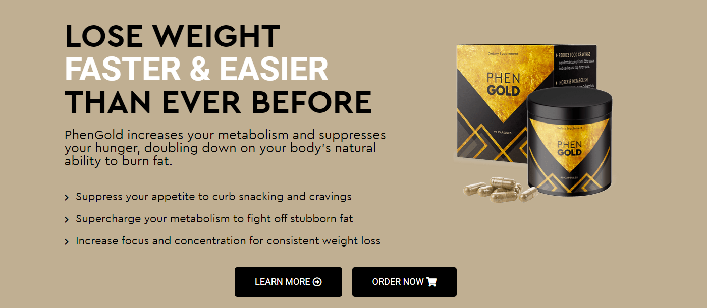 PhenGold® Within Four Weeks of Adding PhenGold & I Dropped 9 Pounds