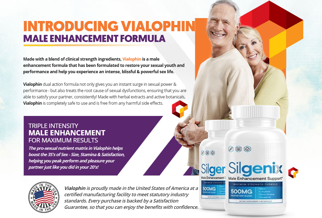 Silgenix ® | Silgenix Male Enhancement Support | Does Its Really Works?