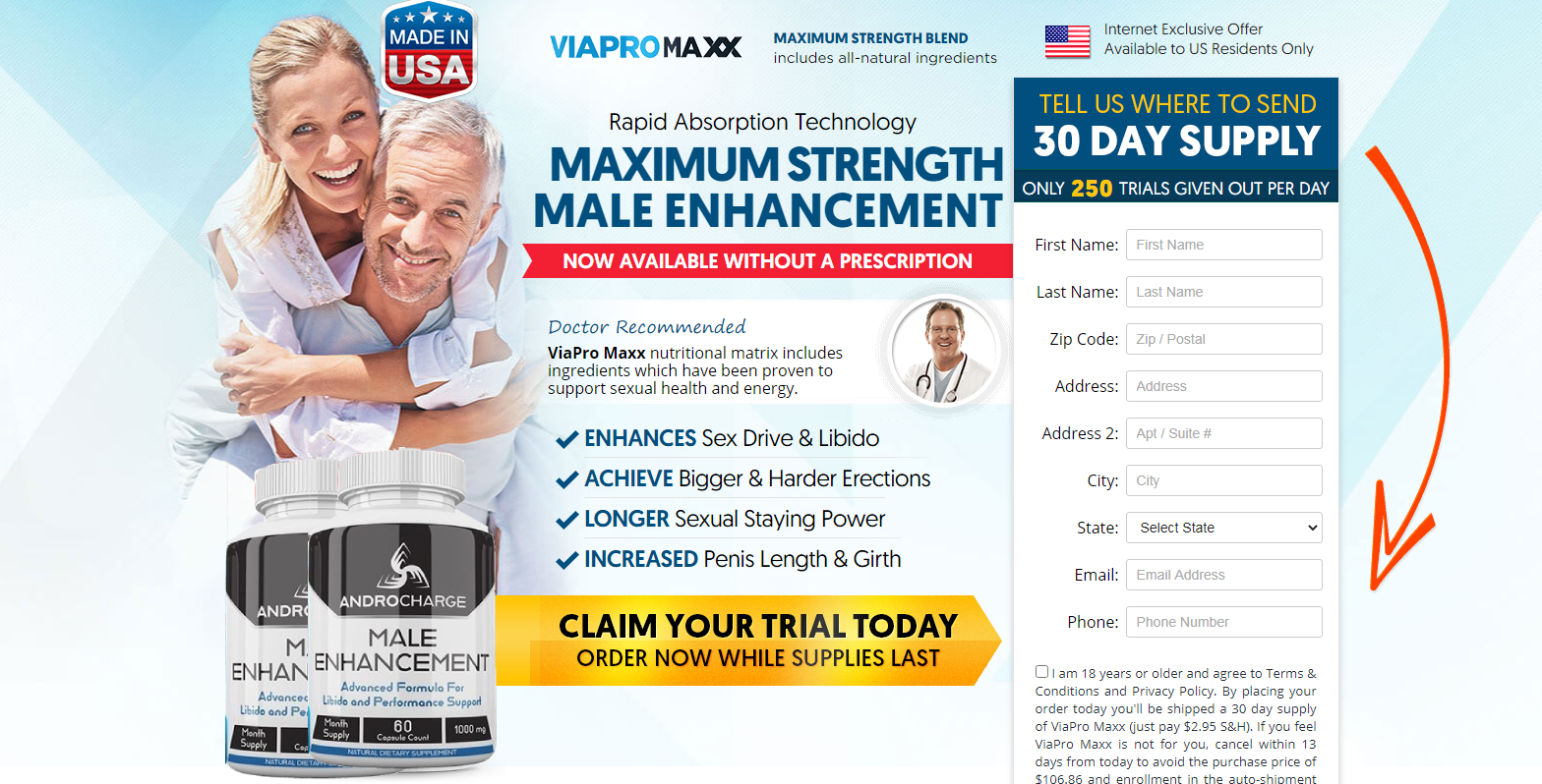 AndroCharge Male Enhancement [100% Legit Male Pills] Scam or Hoax?