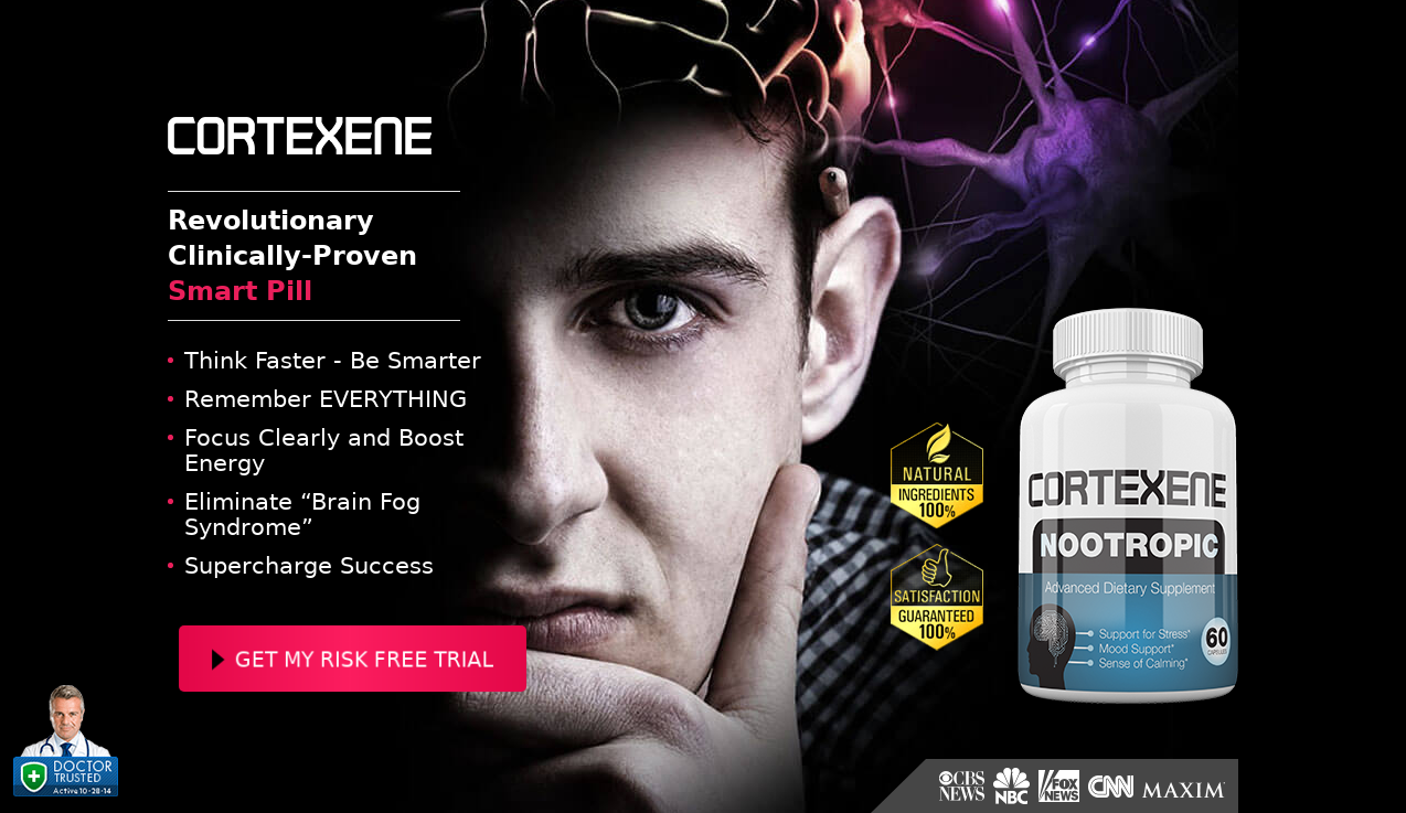 Cortexene Nootropic Reviews® {Modify 2020} Does Its Really Works?