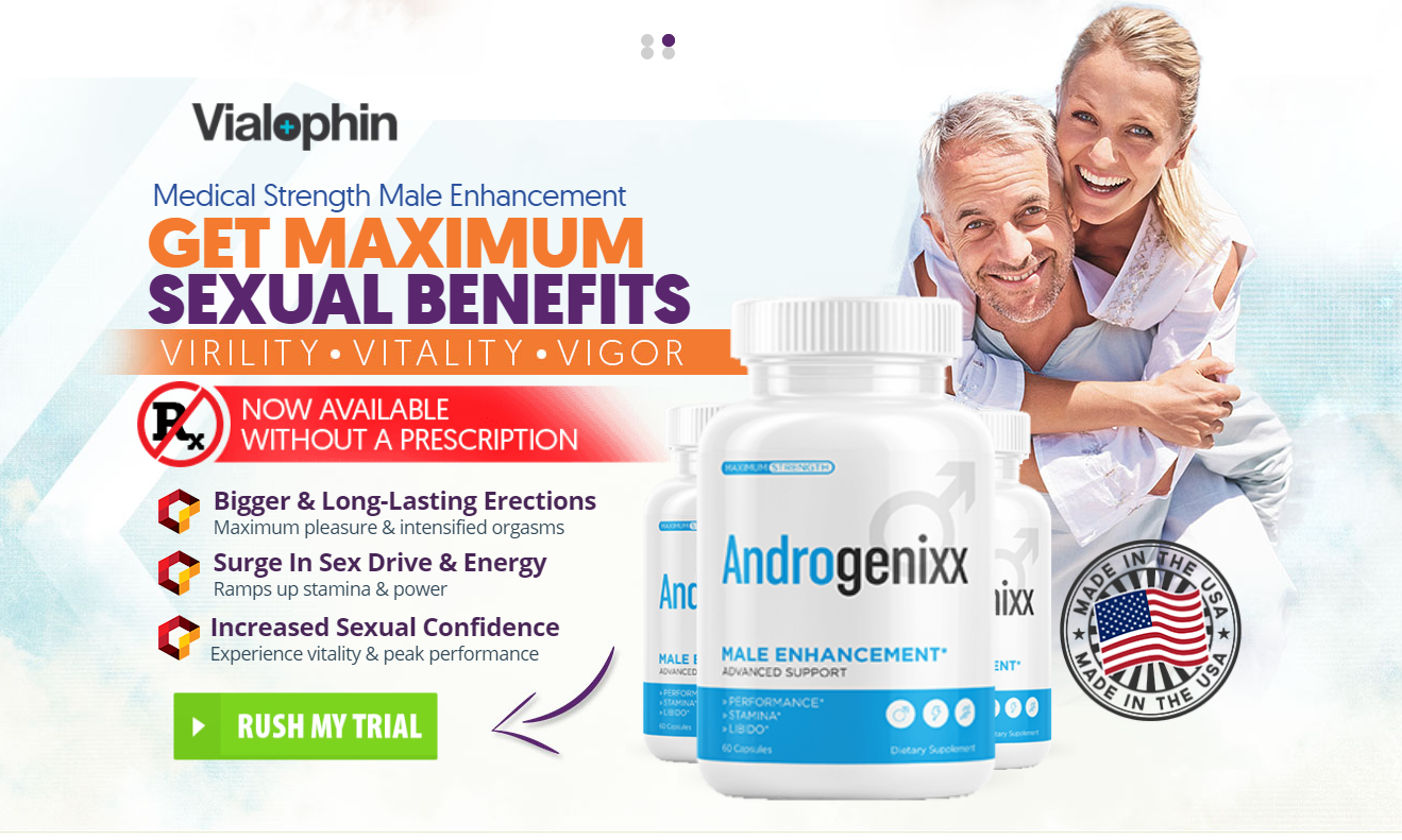 AndroGenixx Male Enhancement [Modify 2021] Does Its Really Works?