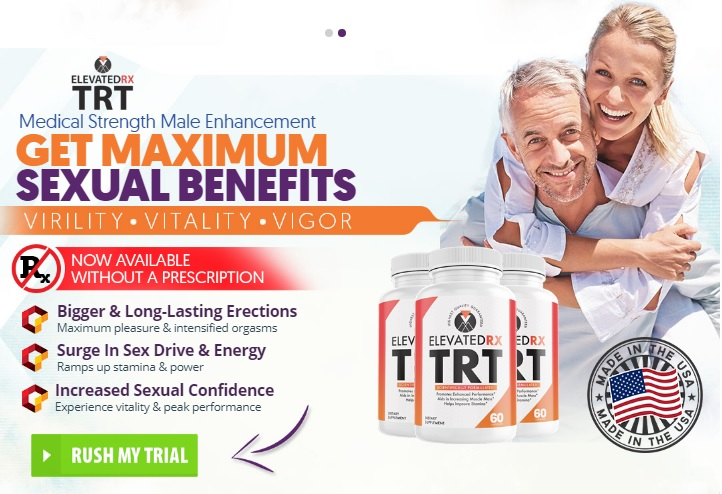 "ElevatedRX [2021] ""ElevatedRX TRT Male Enhancement"" Really Works?"