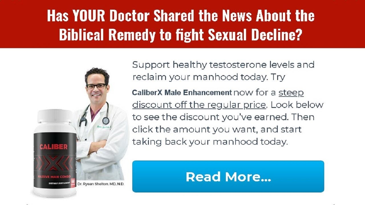 CaliberX Male Enhancement® [Update 2021] Price, Scam, Reviews?