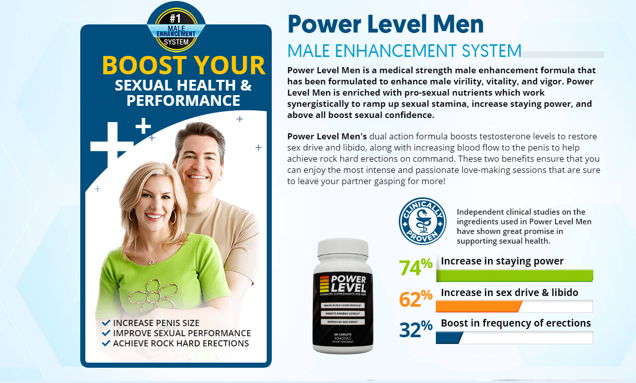 "Power Level Men ""Power Level Male Enhancement"" Its Really Works?"
