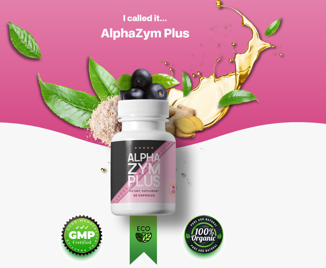 AlphaZym Plus Reviews {Upgrade 2021} Quick & Easy Weight Loss Tips!