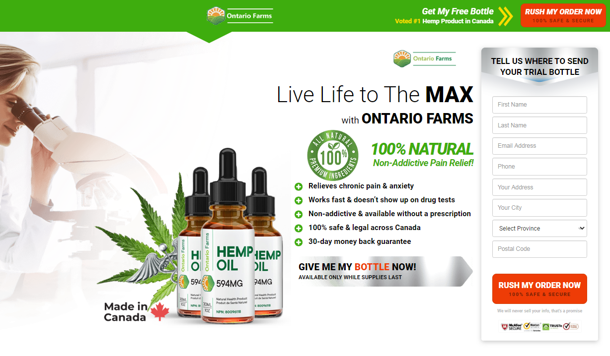 Ontario Farms Hemp Oil Reviews [UPDATE 2021] Price, Scam, Benefits?