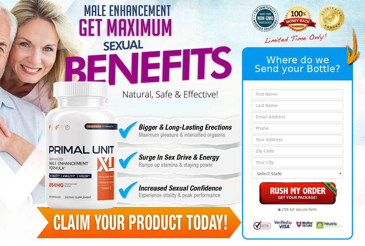 Primal Unit XL Male Enhancement® [Pros & Cons] Where to Buy?