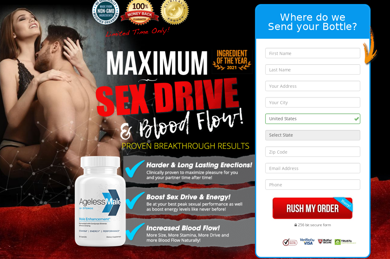 AgeLessMale Male Enhancement® (Modify 2021) Does Its Really Works?