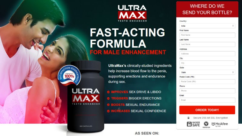 UltraMax Rise Male Enhancement - Longer Sexual Staying Power & Sex Drive!