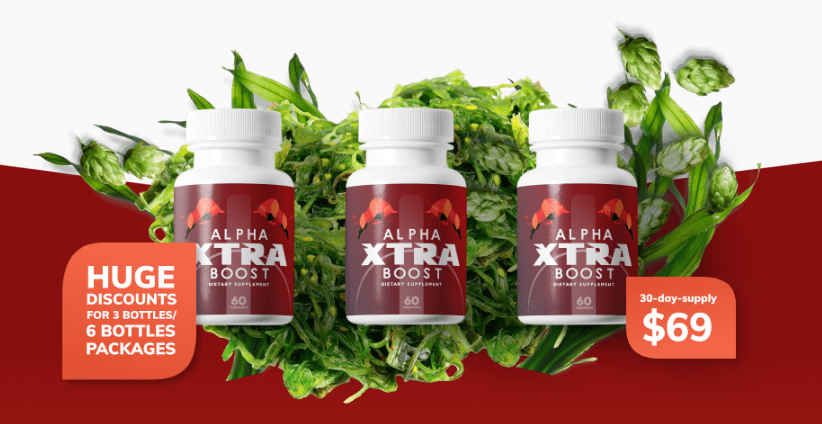 Alpha Xtra Boost Reviews - Sexual Shark Tank - Boost Confidence!