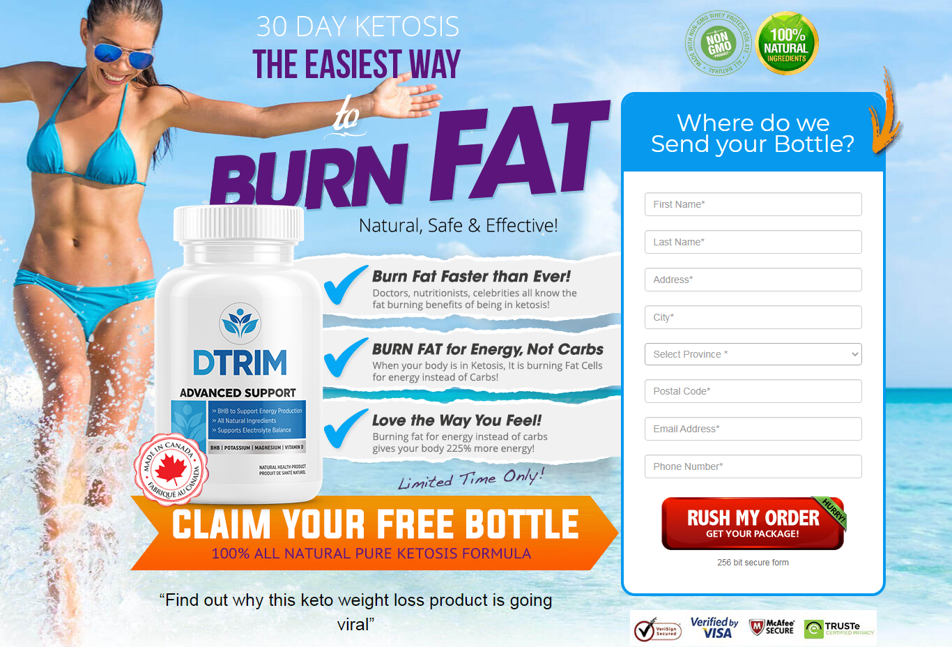 DTrim Keto Advanced Support [DTrim Keto] Does Its Really Works?