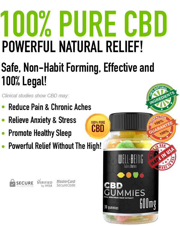 WellBeing Labs CBD Gummies Reviews - Price, Benefits, Ingredients?