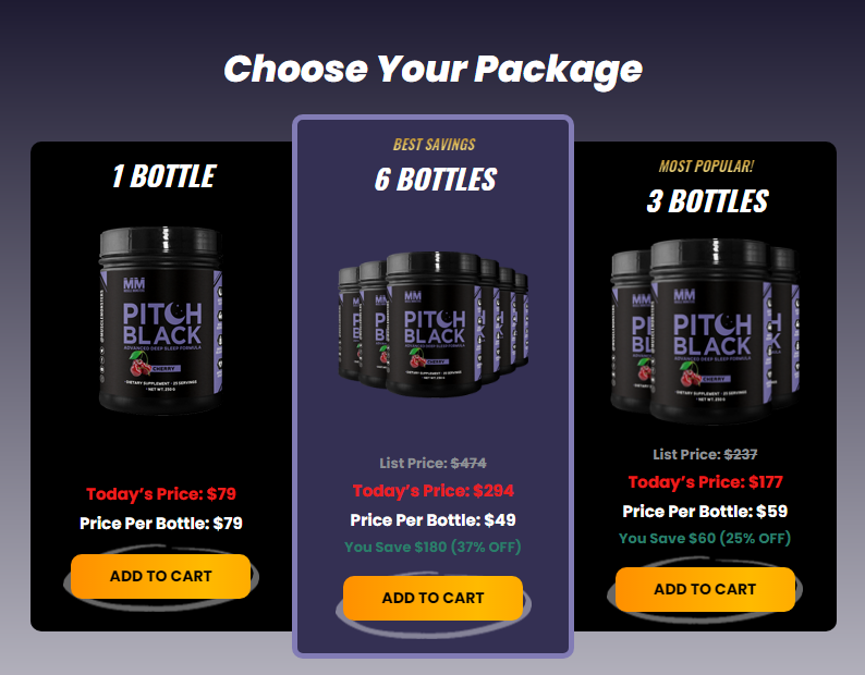 Muscle Monster Pitch Black Reviews (Modify 2021) Does Its Really Works?