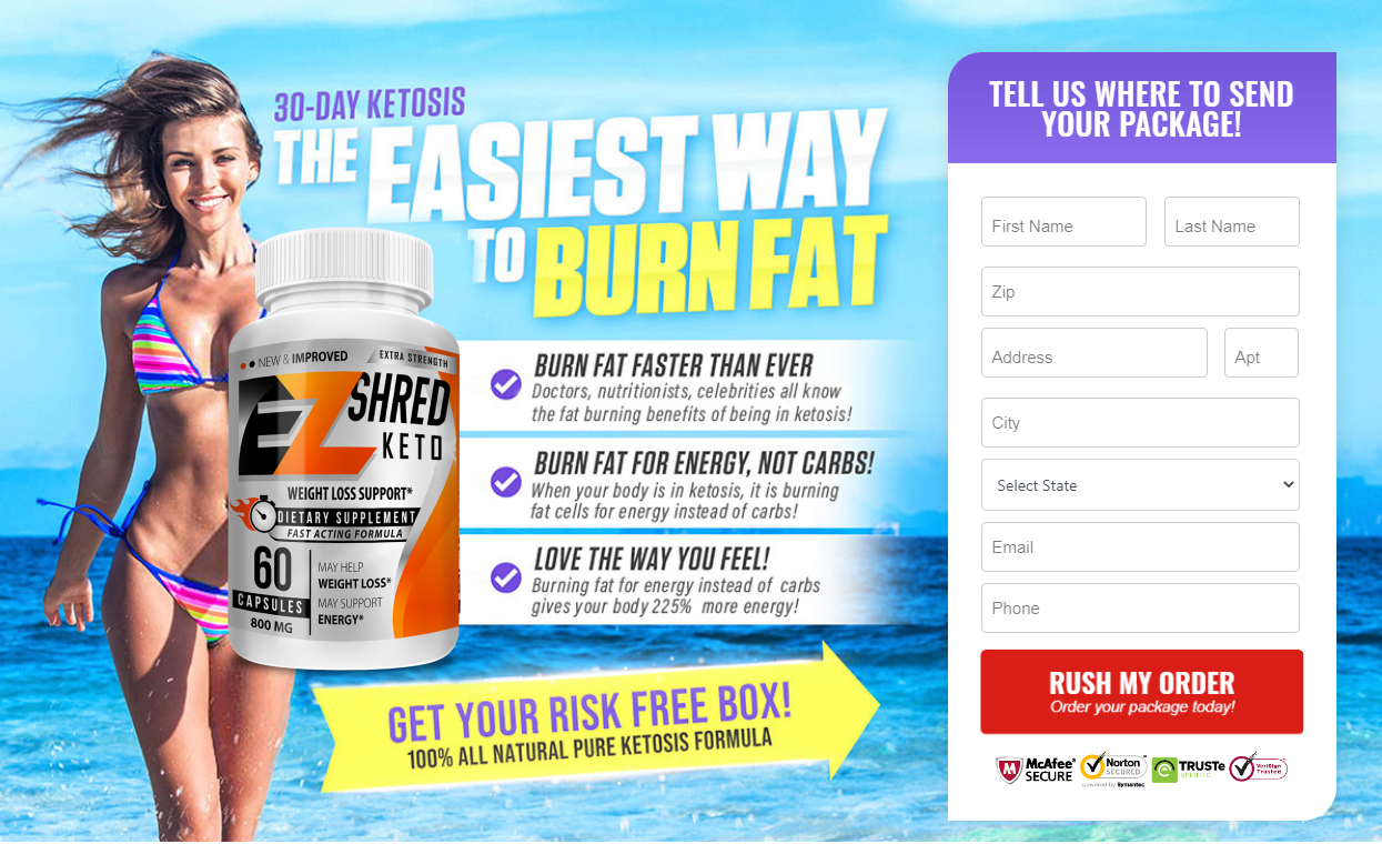 """EZ Shred Keto® """"Pros & Cons"""" Get Real Weight Loss Results Now!"""