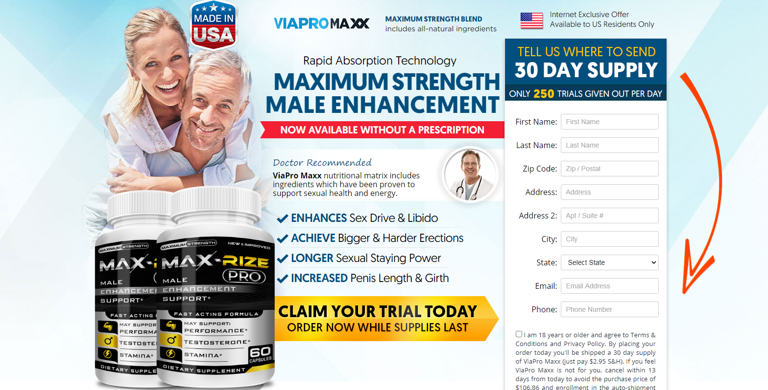 Maxrize Pro - How it Uses - What is Max Rize Pro Male Enhancement?