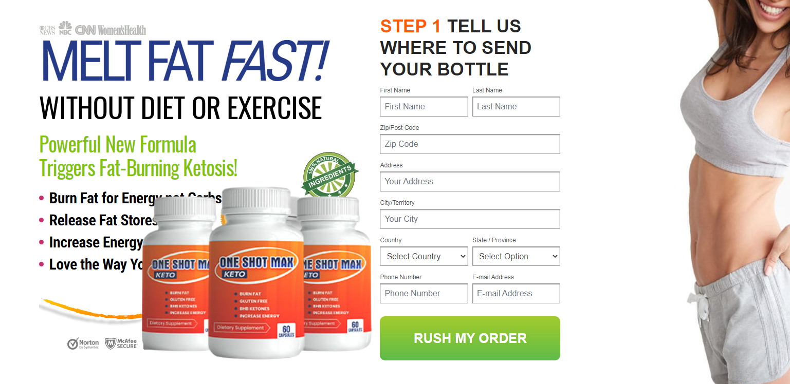 """One Shot Max Keto """"Does Working & Uses"""" Price, Benefits, Reviews?"""
