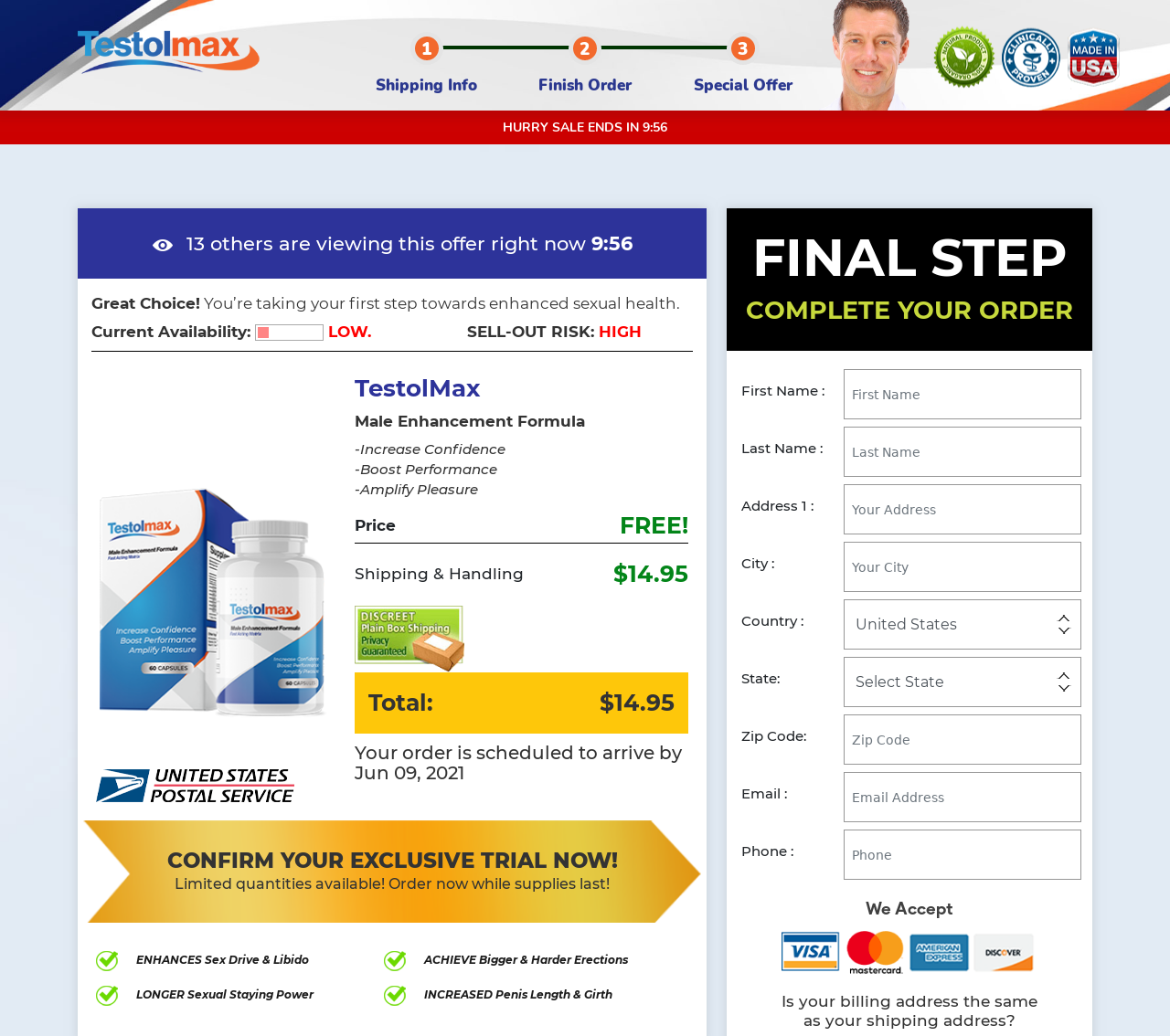Testolmax Male Enhancement - How it Use - Does Its Really Works?