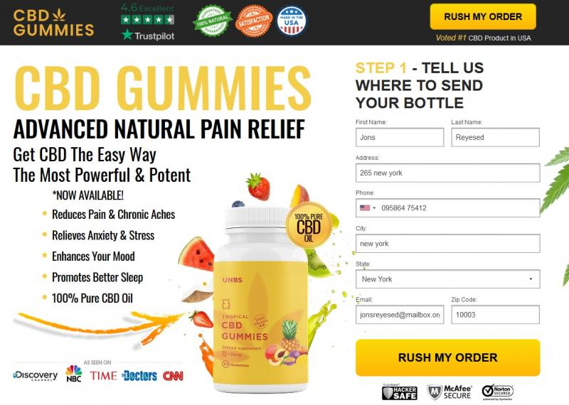 Unbs Tropical CBD Gummies (Modify 2021) Does Its Really Works?