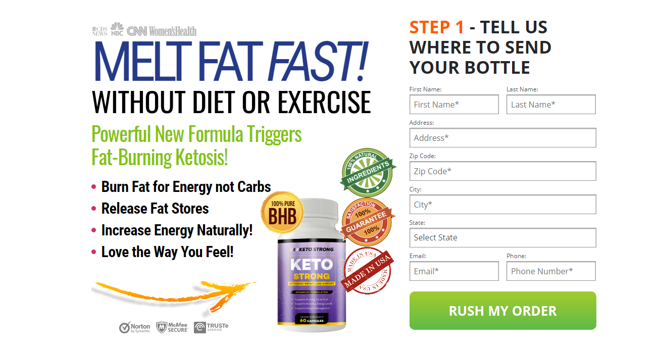Strong Keto US Review: #1 Product for Losing Excess Body Fat